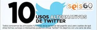 Razones para utilizar twitter